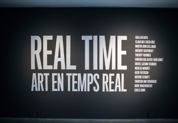 Real time. Arts Santa Mònica